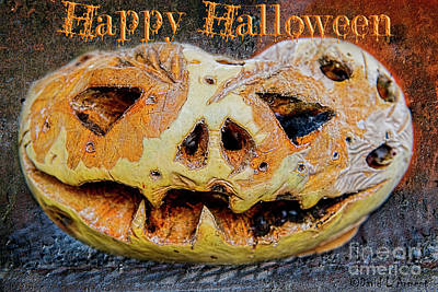 Photograph - Happy Halloween by David Arment