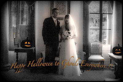 Photograph - Happy Halloween To Ghouls by Bonnie Follett