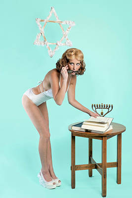 Photograph - Happy Hanukkah 5 by Lisa Piper