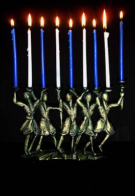 Photograph - Happy Hanukkah by Stephanie Moore