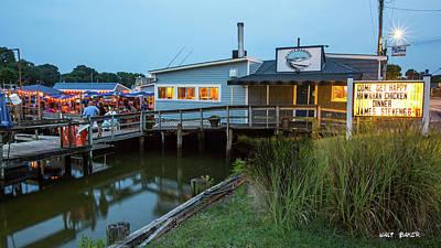 Photograph - Happy Harbor by Walt Baker
