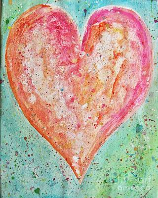 Painting - Happy Heart by Diana Bursztein