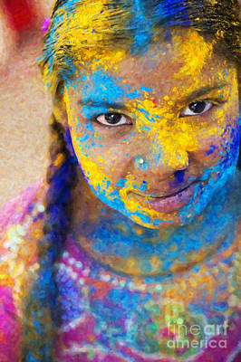 Photograph - Happy Holi by Tim Gainey