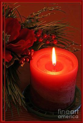 Happy Holidays #1 Print by Teresa Zieba