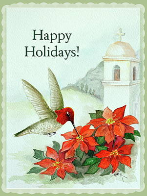 Painting - Happy Holidays 2 by Marilyn Smith