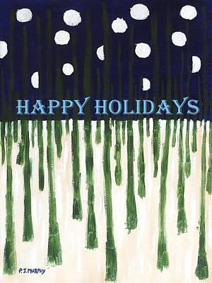 Happy Holidays 2 Art Print by Patrick J Murphy