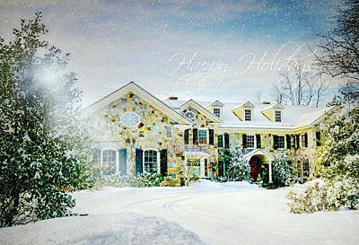 Photograph - Happy Holidays 2016 by Diana Angstadt