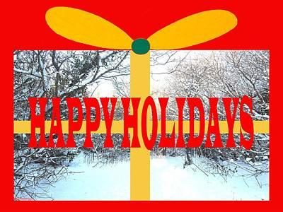 Modern Painting - Happy Holidays 21 by Patrick J Murphy