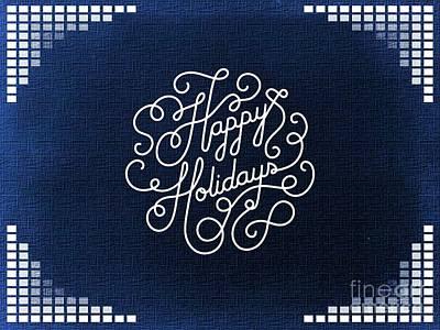 Digital Art - Happy Holidays 5 by Erika H