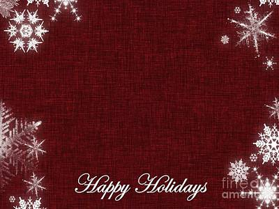 Digital Art - Happy Holidays 6 by Erika H