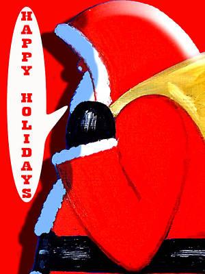 Happy Holidays 6 Art Print by Patrick J Murphy
