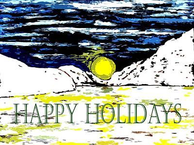 Happy Holidays 82 Art Print by Patrick J Murphy