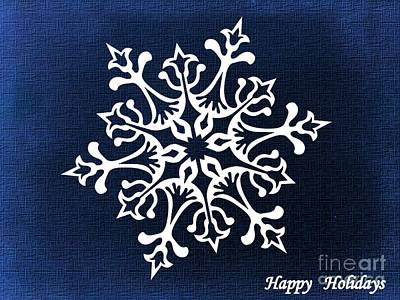 Digital Art - Happy Holidays Card 1 by Erika H