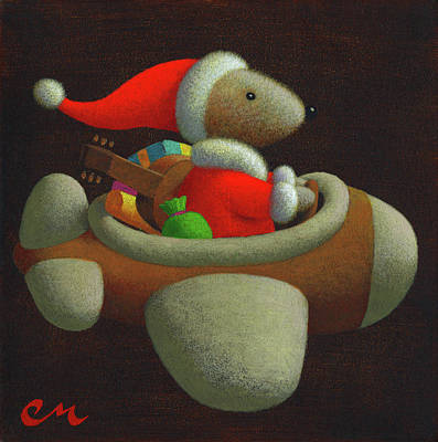 Wall Art - Painting - Happy Holidays by Chris Miles
