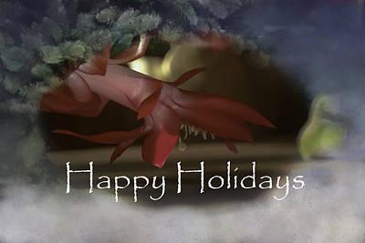 Photograph - Happy Holidays by Judy Hall-Folde