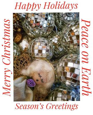 Photograph - Happy Holidays by Mary Capriole