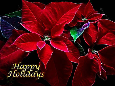 Photograph - Happy Holidays by Sandy Keeton