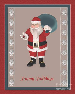 Mixed Media - Happy Holidays To All by Barbara Milton
