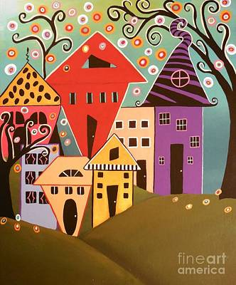 Painting - Happy Home by Jean Fry