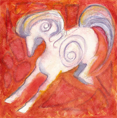 Painting - Happy Horse by Linda Kay Thomas
