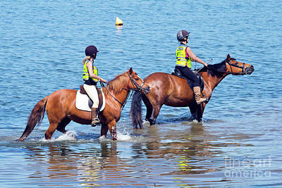 Photograph - Happy Horses And Their Riders by Terri Waters