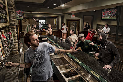 Composite Photograph - Happy Hour 2 by Anthony Benussi