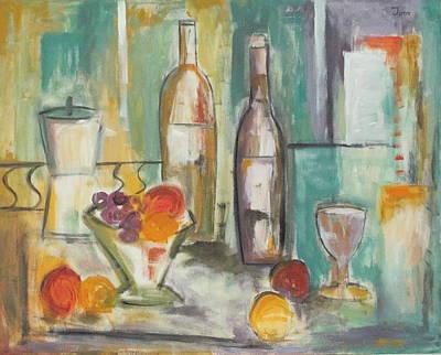 Happy Hour I Art Print by Trish Toro