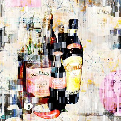 Digital Art - Happy Hour by Jennspoint