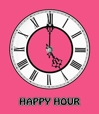 Photograph - Happy Hour -  Pink by Gill Billington