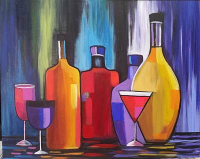 Painting - Happy Hour by Rosie Sherman
