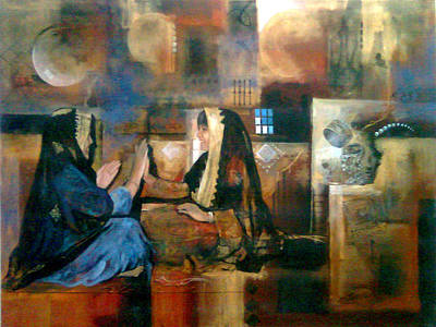 Painting - Happy Hours by Jaffo Jaffer