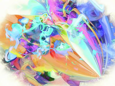 Digital Art - Happy Hues by Margie Chapman