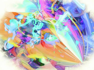 Digital Art - Happy Hues by Margie Chapman