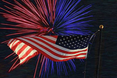Photograph - Happy Independence Day by Donna Kennedy