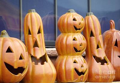 Photograph - Happy Jack O Lantern by L Cecka