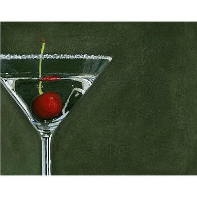 Martini Wall Art - Photograph - Happy by Karyn Robinson