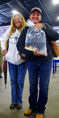 Photograph - Happy Koi Buyers by Phyllis Spoor
