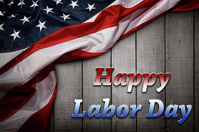 Photograph - Happy Labor Day by Les Cunliffe