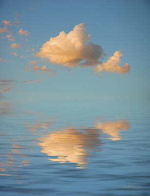 Atmosphere Photograph - Happy Little Cloud by Jerry McElroy