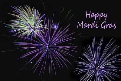 Photograph - Happy Mardi Gras by Nikolyn McDonald
