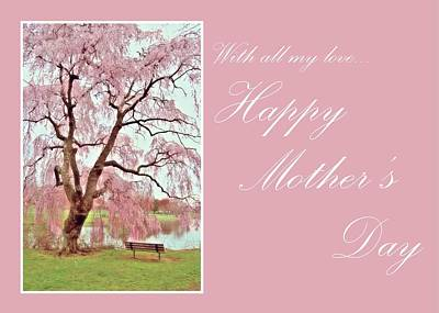 Photograph - Happy Mother's Day Card 1 by Angie Tirado