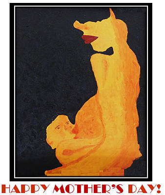 Painting - Happy Mother's Day 11 by Antonia Pascoal