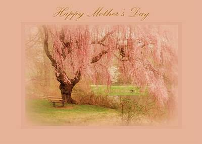 Photograph - Happy Mother's Day Card 2 by Angie Tirado