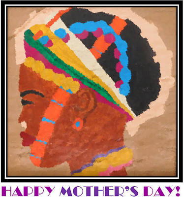 Painting - Happy Mother's Day 4 by Antonia Pascoal