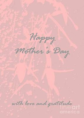 Photograph - Happy Mothers Day by Barbie Corbett-Newmin