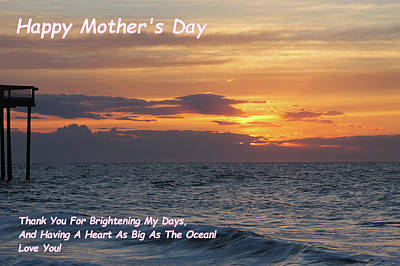 Photograph - Happy Mother's Day - Brightening My Days by Robert Banach