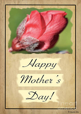 Digital Art - Happy Mothers Day - Card Number 003 By Claudia Ellis by Claudia Ellis
