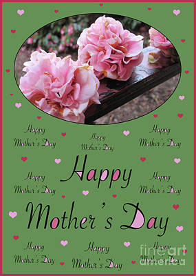 Photograph - Happy Mother's Day - Card Number 005 By Claudia Ellis by Claudia Ellis