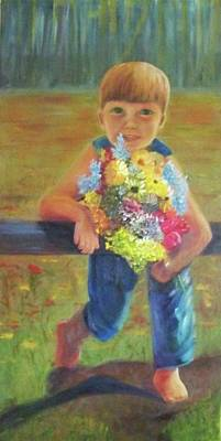 Painting - Happy Mothers Day by Dana Redfern