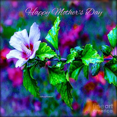 Mixed Media -  Happy Mother's Day  by MaryLee Parker